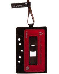 Yohji Yamamoto Cassette A Cardholder - Red