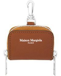 Maison Margiela - Leather Airpods Pro Case Tan - Lyst
