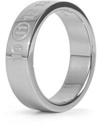 Maison Margiela Numbers Silver Ring - Metallic