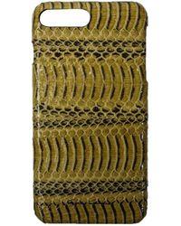 Rick Owens Snake Skin Iphone Case - Green