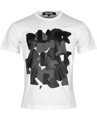 Comme des Garçons Nike X Comme Des Garçons Black Logo T-shirt - Multicolour