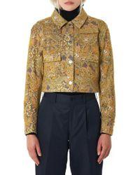 ShuShu/Tong - Floral Jacquard Jacket - Lyst