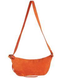 Guidi Q10m Reverse Horse Leather Bag - Orange
