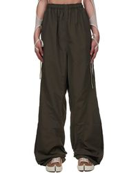 Hyein Seo Relaxed Fit Track Pants - Green