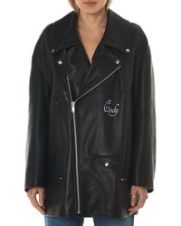 Undercover - Cindy Sherman Short Leather Coat - Lyst