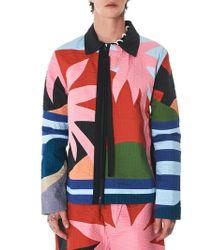 Craig Green - 'holiday' Colorblock Jacket - Lyst