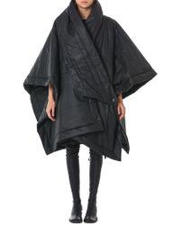 Barbara I Gongini | Oversized Wrap Poncho | Lyst