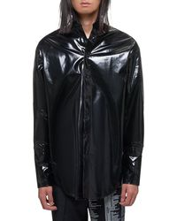 Yang Li Oversized Shirt - Black