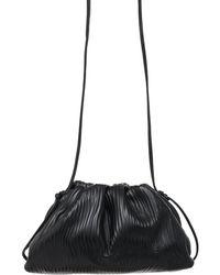 Bottega Veneta The Mini Pouch Leather Clutch - Black