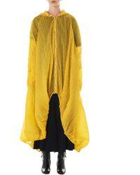 Angel Chen Parachute Windbreaker - Yellow