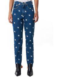 MISBHV Monogram Denim Trouser - Blue
