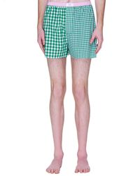 ERL Patch Print Boxers - Green