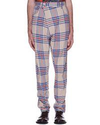 Vivienne Westwood - Tartan Trousers - Lyst