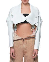 Jenny Fax - Cropped Blazer - Lyst