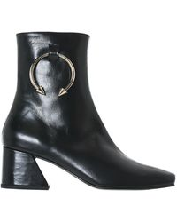 Black Patent Nizip Boots DORATEYMUR Purchase Cheap 100% Original Cheap Online Cheap Largest Supplier Huge Surprise For Sale Low Price Fee Shipping For Sale MSg6GG