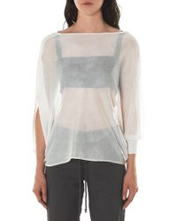 Lost & Found - Asymmetric Sleeve Top - Lyst