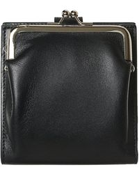 Yohji Yamamoto Hybrid Leather Wallet - Black