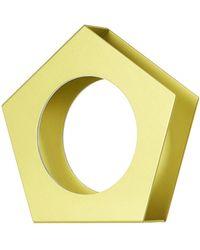 Issey Miyake - Geometric Solid Bracelet - Lyst