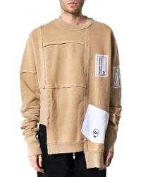 Liam Hodges - Process Patchwork Pullover - Lyst