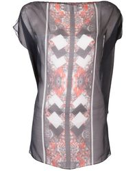 The Textile Rebels - Silk Ornamental Print Top - Lyst