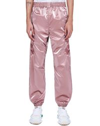 Doublet Gradation Chaos Embroidery Track Pants - Pink