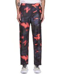 KANGHYUK Action Camouflage Pants - Pink