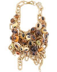 Comme des Garçons Eyeball Necklace - Metallic