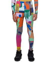 Walter Van Beirendonck Drip Leggings - Multicolor