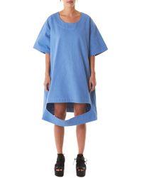 Nancy Stella Soto Cutaway Dress - Blue