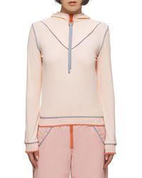Xiao Li Reflective Top - Pink