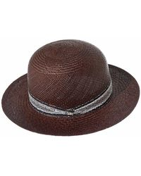 "SuperDuper Hats - ""panama"" Straw Hat - Lyst"