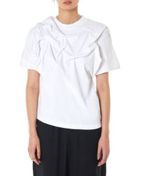 Aganovich - Distortion Jersey Tee - Lyst