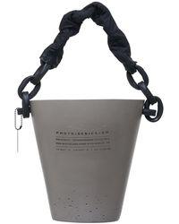 PHOTO/GENICS+CO Xl Concrete Bucket Candle No. 3 Sativa - Multicolor