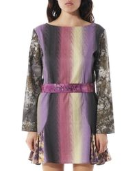 Mikio Sakabe - Purple Hue Jenny Dress - Lyst