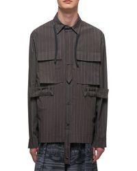Craig Green Brown The Utility Shirt - Gray