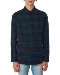 John Elliott - Striped Flannel Shirt - Lyst