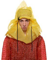 Craig Green Plastic Bucket Hat - Yellow