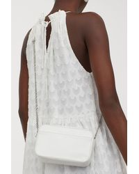 H&M Small Shoulder Bag - White