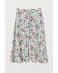 H&M - Calf-length Skirt - Lyst