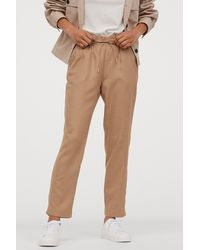 H&M Pull-on Pants - Natural