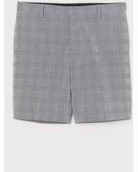 H&M Chinoshorts Slim Fit - Grau