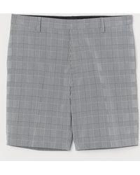 H&M Chinoshorts Slim Fit - Grau