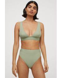 H&M Brazilian Bikini Bottoms - Green