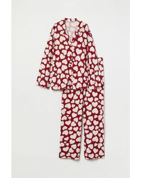 H&M Pyjamajasje En -broek - Rood