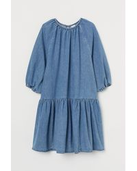 H&M Jeanskleid - Blau