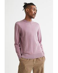 H&M Cashmere-blend Sweater - Purple