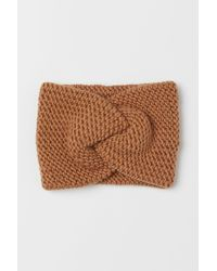 H&M Knitted Headband - Natural