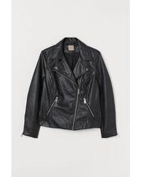 H&M H & M+ Biker Jacket - Black
