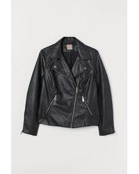 H&M H & M+ Veste de style motard - Noir