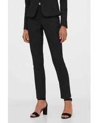 H&M Suit Pants - Black